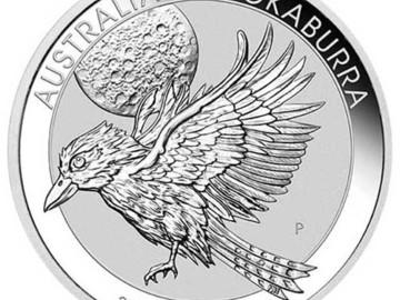 Venta sin pagos en línea: Moneda de 1 Kilo plata Australian Kookaburra 2018