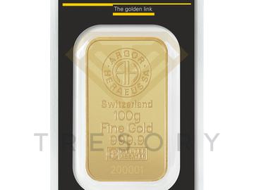 Venta sin pagos en línea: Lingote 100gr Oro Heraeus