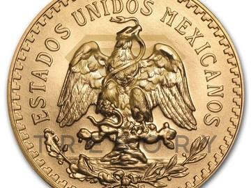 Venta sin pagos en línea: 50 Gold Mexican Pesos (1821-1947)