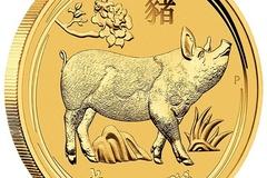 Venta sin pagos en línea: Moneda de 2oz de Oro - 2019 Año del Cerdo