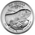 Venta sin pagos en línea: 1 oz Fiji Iguana plata (2015)